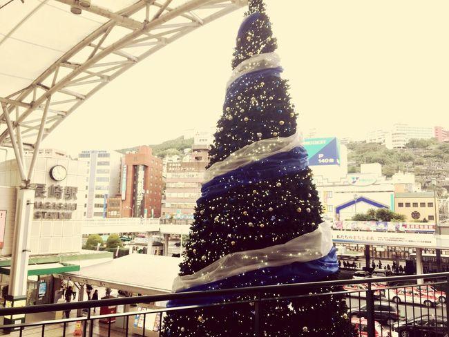 長崎駅 Christmas Tree Nagasaki