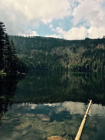 Lake Water Nature Landscape Beauty In Nature Blacklake Moutains