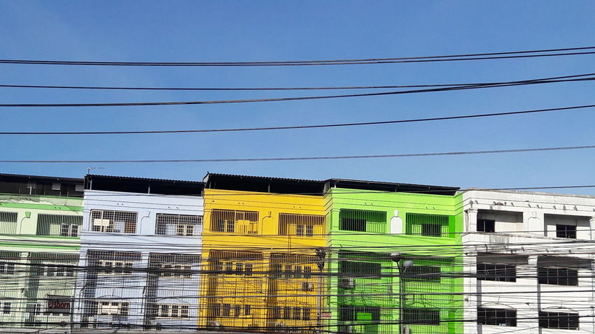 Color of Building in Thailand