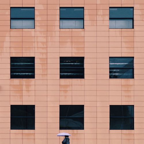Geometry Urban Geometric Shape Urban Geometry Lines And Shapes One Person Only Window Architecture Built Structure Building Exterior Full Frame Building Window Backgrounds City Day Outdoors Low Angle View Modern Shape Design Façade Pattern Repetition Geometric Shape Glass - Material The Creative - 2019 EyeEm Awards The Minimalist - 2019 EyeEm Awards
