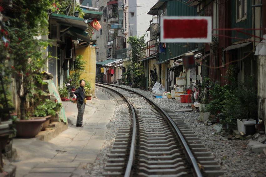 Vietnam Railroad Track People Transportation Rail Transportation Secret Places The Secret Spaces The Street Photographer - 2017 EyeEm Awards