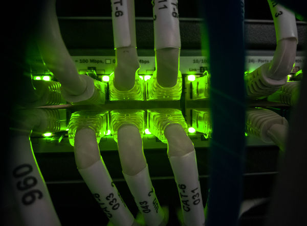 Bandwidth Close Up Technology Computer Network Connection EyeEm Team Green Color Green Color Indoors  Microbiology Network Connection Plug Network Server Networking Plugs Technology Wired Neon Life