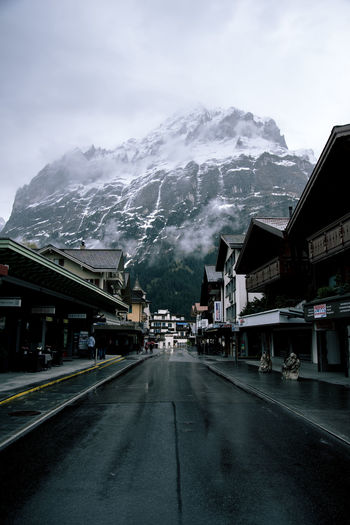 drive through Beautiful Beautiful Nature Dark Grindelwald Mood Moody Moodyness Mountains Swiss Swiss Alps Tones Village