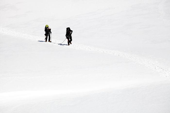 Adrenaline Alpine Alpinism Berner Berner Oberland Danger Equipment Extreme Glacier Glacier Trek Ice Snow Swiss Swiss Alps Swiss Mountains Switzerland Team Trekking TrekkingDay White