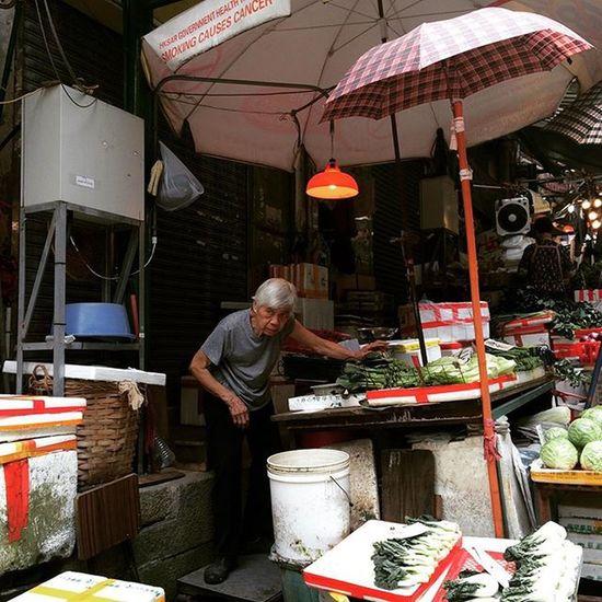 HongKong Hk Market Food Travelling Travelphotography Theworldisyouroyster RespectYourElders