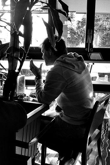 Coffee Sandgate Blackandwhite Streetphoto_bw