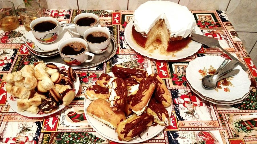 Merry Xmas! Drink Food And Drink Celebration Food Table Popular Photos No People Cookies Sweeties Freshness Visual Feast