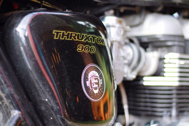 Beside Thruxton900 Day Triumpher Britbikes Triumphmotorcycles Pattanication