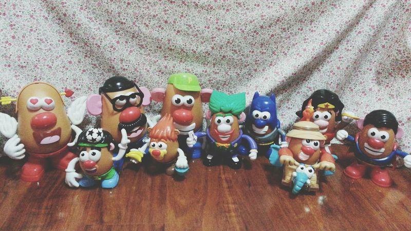 新年全家福 Mr. Potato Head Happy New Year 2015