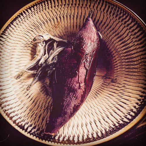 小魚とさつまいも。 自然 田舎暮らし 里山 Japan Countryside Sweets Organic Potato