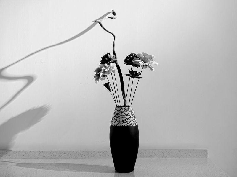 Chinese Vase Vase Vase Of Flowers Fllowers Table Zen