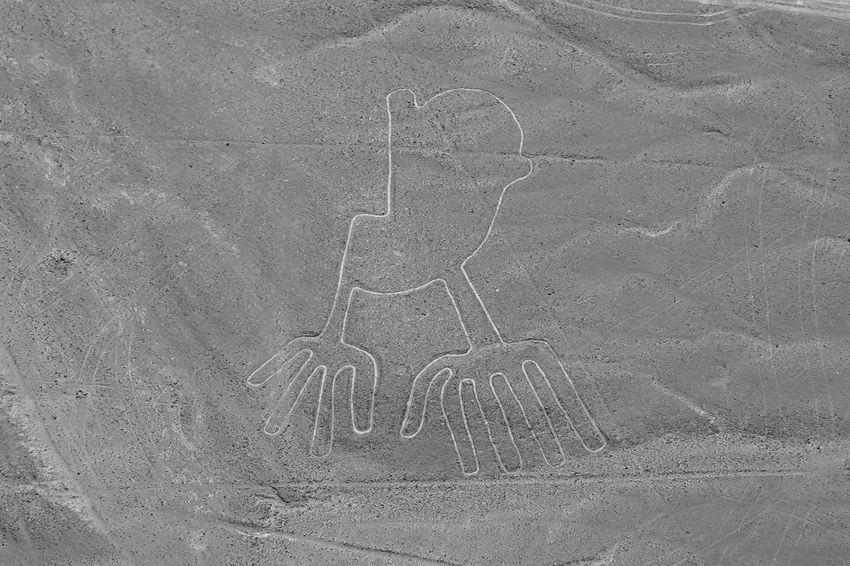 The Hands - Nasca Lines - Peru Hands Lines Nazca Peru Aerial Flight Nasca Nasca Lines