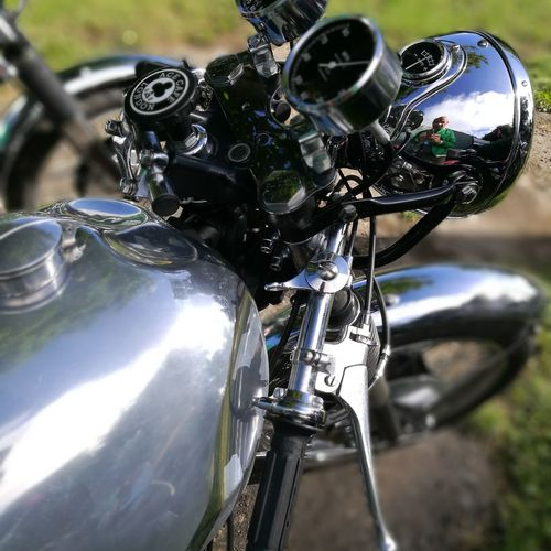 Transportation Land Vehicle Mode Of Transport Sunlight Wheel Motorcycle Focus On Foreground Detail Travel Outdoors Close-up Motion Road Racing Check This Out Vacations No People Motorcycles Isle Of Man Traveling Cafe Racer ACE CAFE