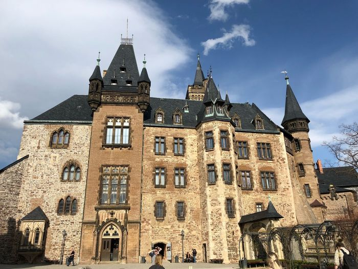 IPhone X Photography IPhone X Schloss Werningerode Wernigerode Märchenschloss Castle Built Structure Building Exterior Architecture Building Sky Low Angle View The Past Nature History Travel Destinations Day Cloud - Sky Place Of Worship Religion Tourism Travel Outdoors Spirituality Tower Belief