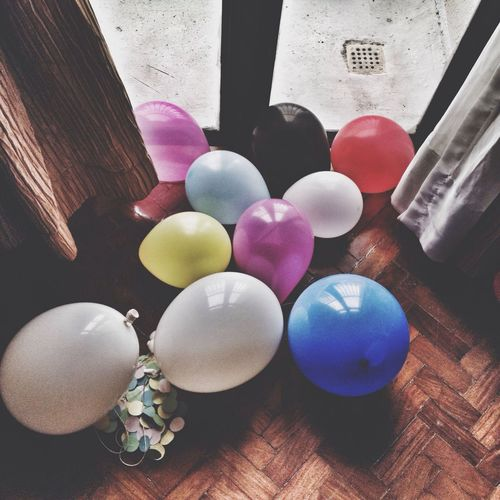 The Moment - 2014 EyeEm Awards Party Balloons Colors