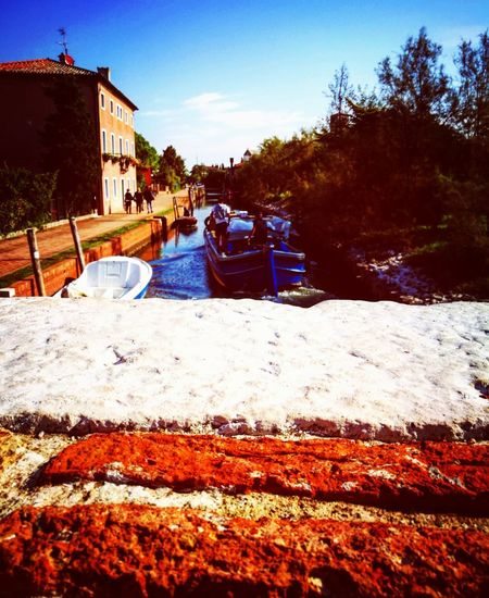 Outdoors Water Day Building Exterior No People Sky Beach Tree Architecture Torcello