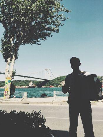 Bebek Istanbul Taking Photos Enjoying Life