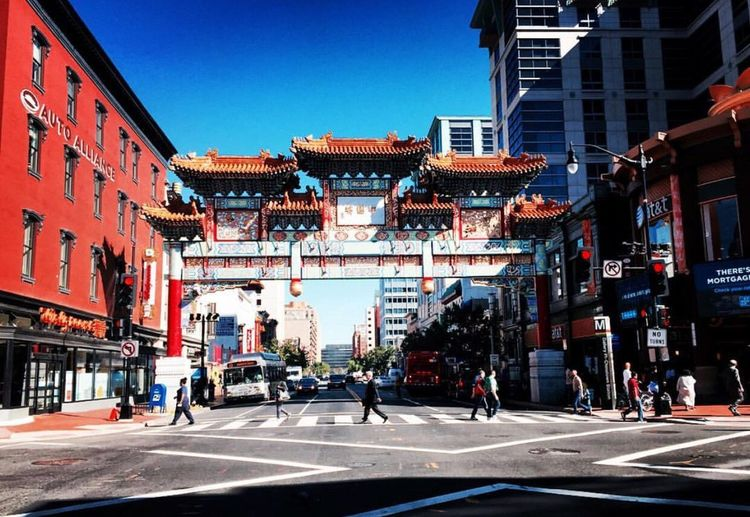 Chine town in