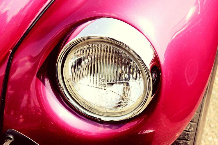 Käfer Käfertreffen Pink Car Oldtimer Licht Lampe