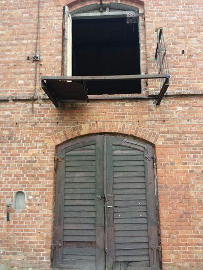 Brick Wall Built Structure Building Exterior Door Doorway Old Things Wooden Door Entrance Closed Taking Photos