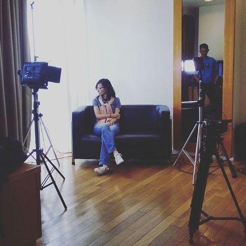 SET Oyikk Production Shooting Daily Work Partofjob Camera Light Instadaily People
