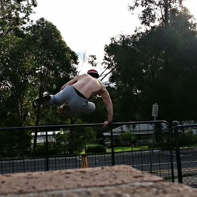 Parkour seshs like I used to have. So much easier now that I'm stronger, just don't have the same confidence yet. Parkour Parkouraustralia Crossfit Crossfitaustralia Strongman Unbroken