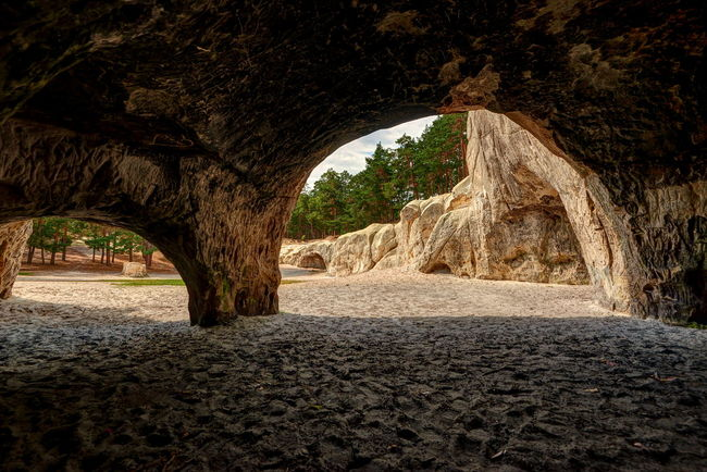 Arch Architecture Beauty In Nature Cave Day Harz Heers History Indoors  Natural Arch Nature No People Rock - Object Rock Formation Scenics Textured  Travel Destinations