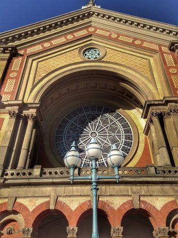 Alexandra Palace Low Angle View Architecture Built Structure Building Exterior Stained Glass
