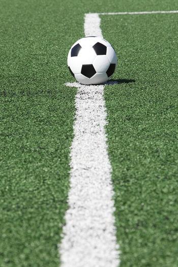 soccer ball on