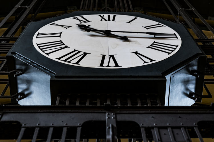 Station clock Astronomical Clock Black Color Central Station Clock Clock Face Clock Tower Close-up Day Hamburg Hour Hand Indoors  Minute Hand No People Roman Numeral Station Clock Time