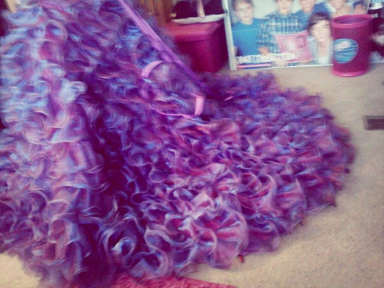 Omg the dress is here<3