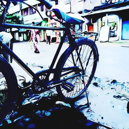 Check This Out Cycle Rural Scene Taking Photos Monsoon Kolkatacity