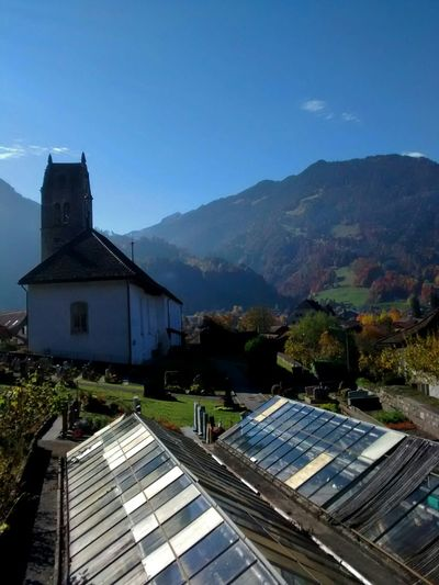 Switzerland Bernese Oberland Landscape_Collection Blue Sky Old Buildings Church Taking Photos EyeEm Best Shots