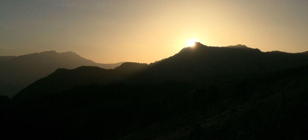 Sunset Sunset les gets Morzine-Avoriaz