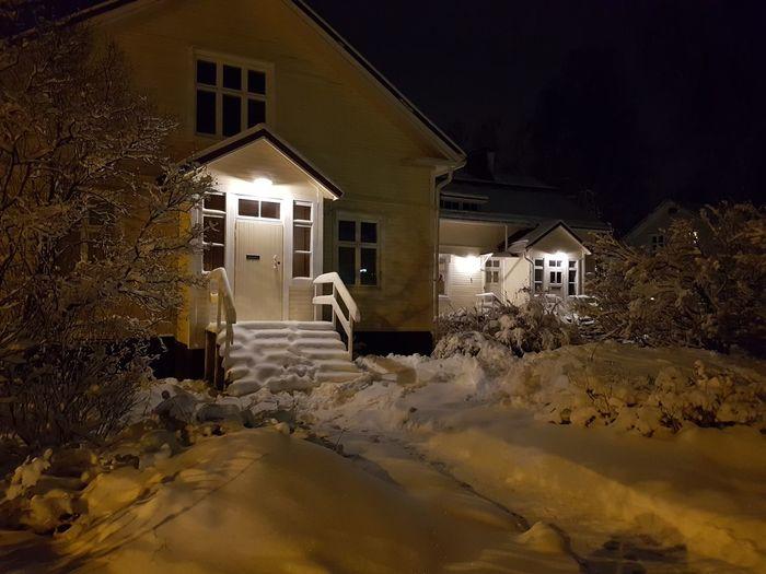 Oulu in winter