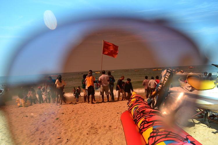 Colors Flag Fun Glasses Joy Masti Sea Shades Sky Summer Tint