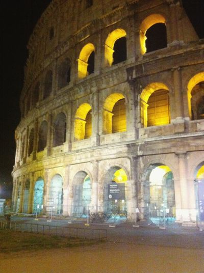 Colosseo Roma Italy Architecture Roma❤️ Romebynight Colosseum Hystory Love Nightphotography