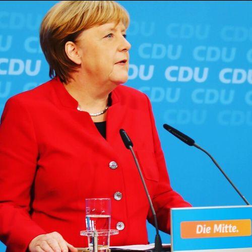 Merkel Chancellor Bundeskanzlerin Cdu First Eyeem Photo
