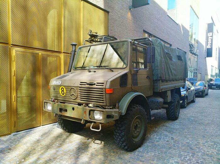 City Built Structure Transportation Outdoors No People Day Wallonie Green Color Belgium. Belgique. Belgie. Belgien. Etc. Army Army Life Army National Guard BELGIUM ARMÉE Automobile Auto Mercedes Green Car Army Navy Army Car Indoors  Charleroi City Low Angle View Marketplace EyeEm Ready