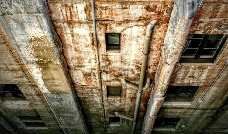 Building Exterior Weathered Exterior Art Is Everywhere Patina