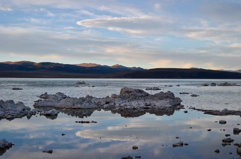 Mono Lake Tufa California Dreamin Reflection Sky Beauty In Nature Tranquil Scene Tranquility Scenics No People Outdoors Landscape Mountain Cloud - Sky EyeEmNewHere