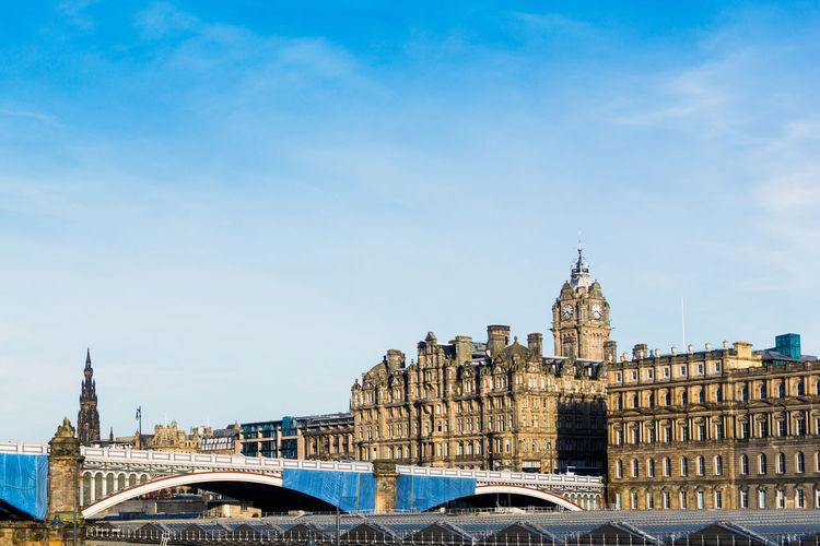 North Bridge By Balmoral Hotel Against Sky