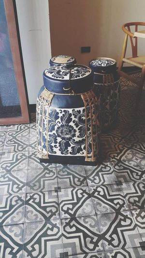 Thailand Pattern Jar Art Finding New Frontiers