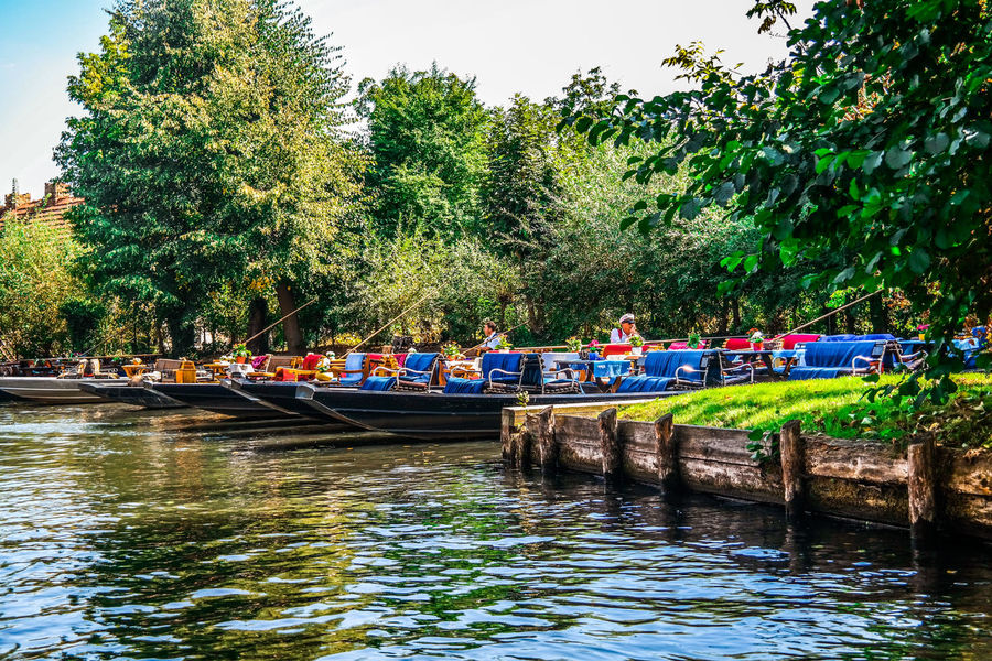 Barge Ferryman Recreation  Spreewaldfest 2016 Tub Boat Day Germany Green Color Group Of People Hookervalley Leisure Activity Men Mode Of Transportation Nature Nautical Vessel Outdoors Real People River Spreewald Transportation Tree Water Waterfront