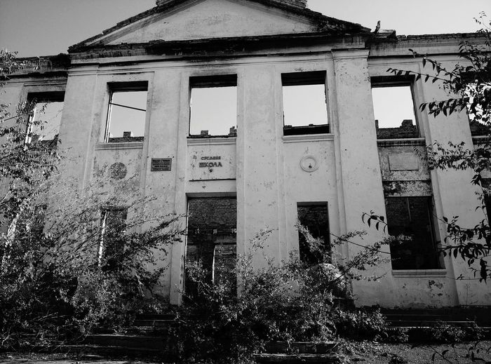 Old Buildings Oldschool Russian Russianbuilding Thecountryside Black & White