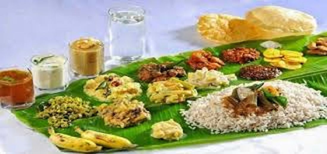 It is a feast of south Indian food served on Plantain leaves. It is a celebration of ONAM Kerala festival Food