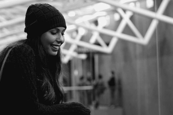 Girl Happiness EyeEm Best Shots Black And White