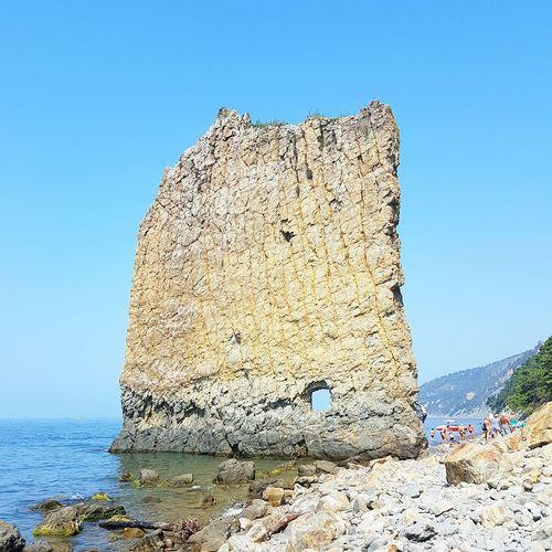 Скала Парус. Black sea.