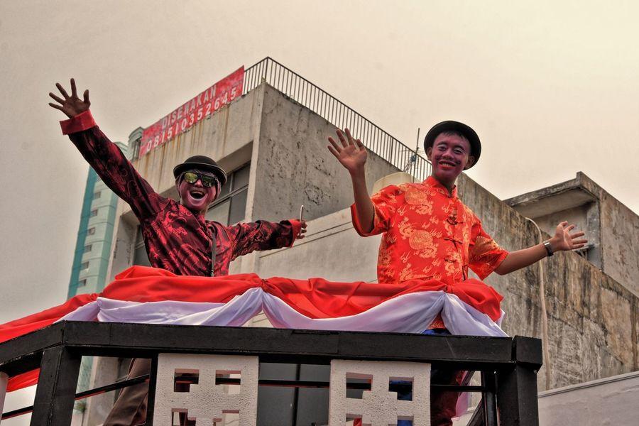 clown Clown Fiesta City Life City Street Mob Capgomeh Asianculture Amateurphotography Nikond7200 EyeEmNewHere EyeEm Best Shots