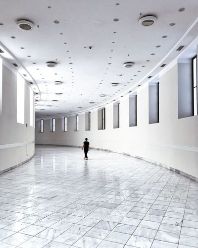 Architecture Indoors  Ceiling Built Structure Full Length The Way Forward Walking Corridor One Person Real People Day People Gettyimagesgallery Getty X EyeEm Getty+EyeEm Collection Minimal Gettyimages Architecture The Week On EyeEm EyeEm Selects EyeEm Selects